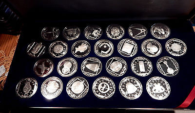1985-Treasure-Coins-Of-The-Caribbean-Sterling-Silver